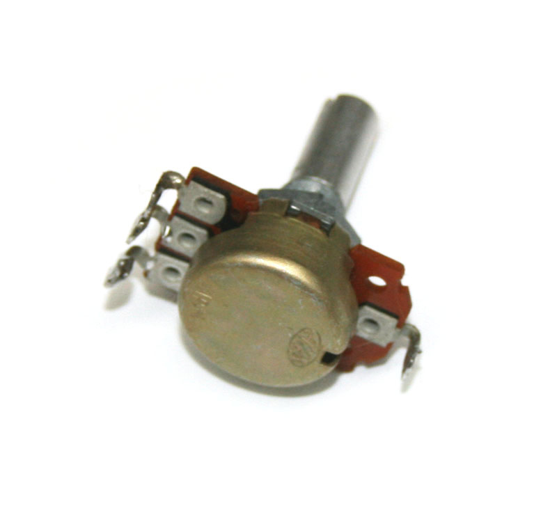 Potentiometer, 100KB rotary with center tap