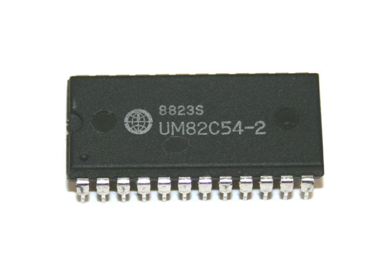 IC, 82C54 programmable interval timer