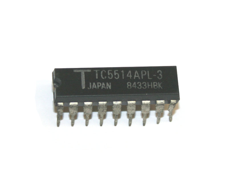IC, TC5514APL SRAM chip