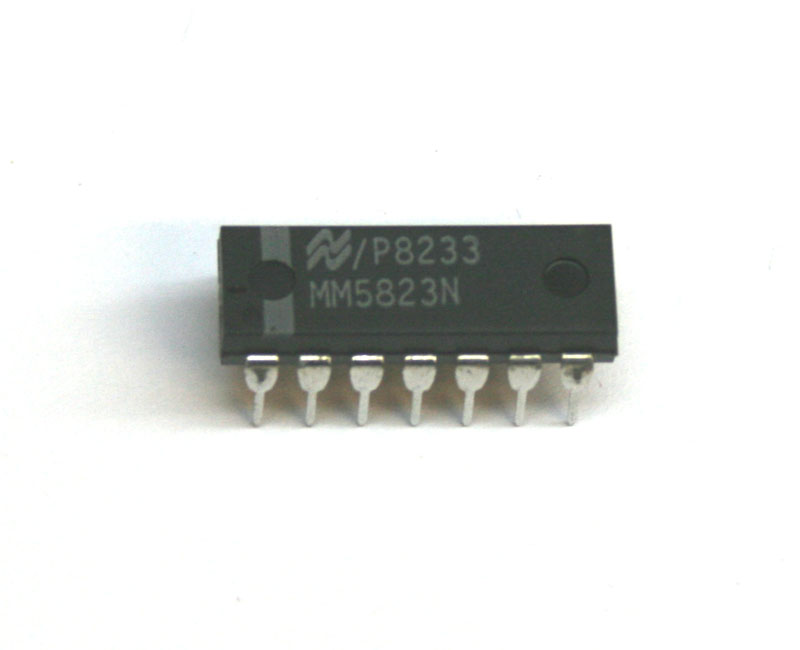 IC, MM5823 6-stage divider