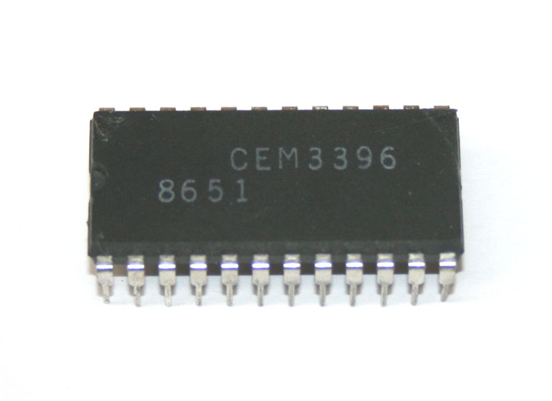 IC, CEM3396 dual waveform converter/processor
