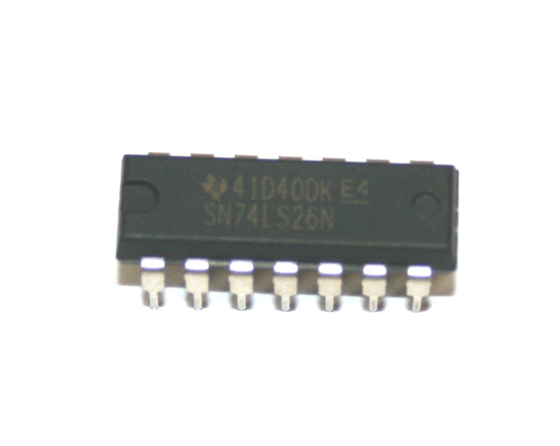 IC, 74LS26 quad NAND gate