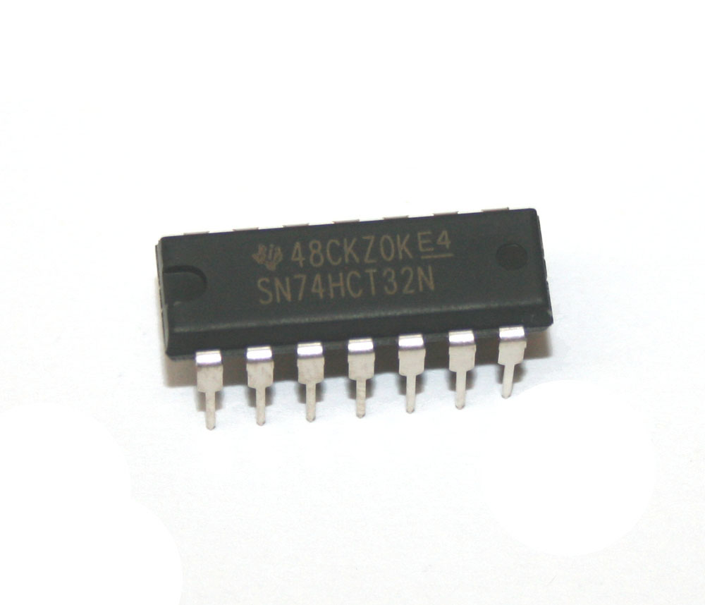 IC, 74HCT32 quad 2-input OR gate