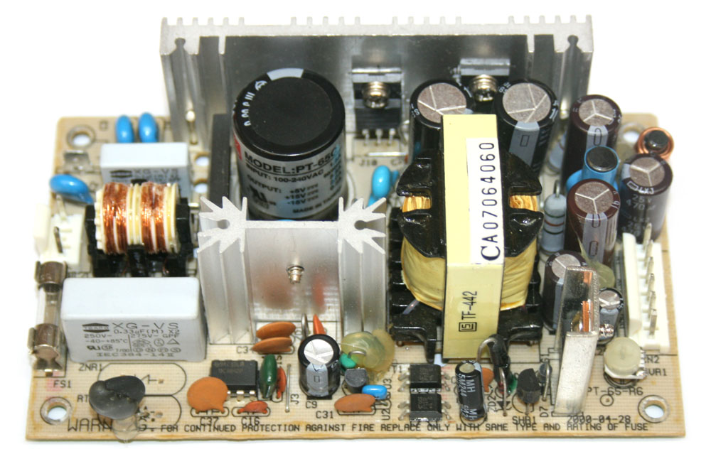 Power supply board, Korg