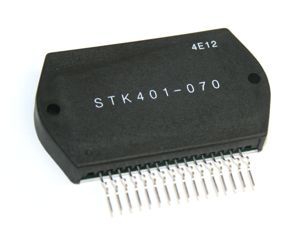 IC, STK401-070 audio power amplifier