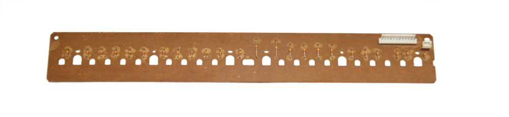 Key contact board, upper 24-note, Yamaha