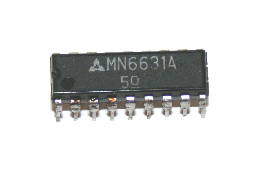IC, MN6631 5-channel electronic switch