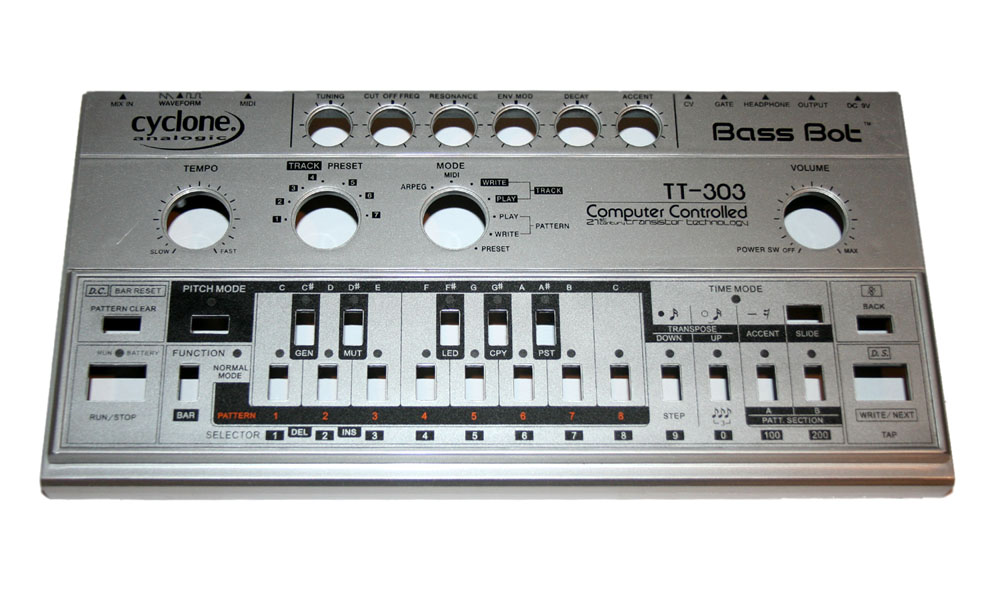 Top panel, Cyclone Analogic TT-303