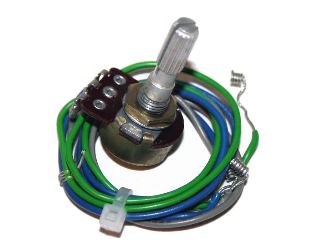 Potentiometer assembly, Tempo, Roland