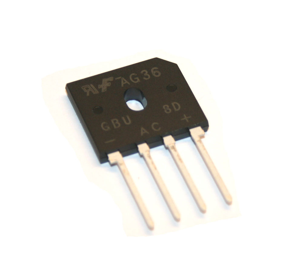 Bridge rectifier, GBU8D