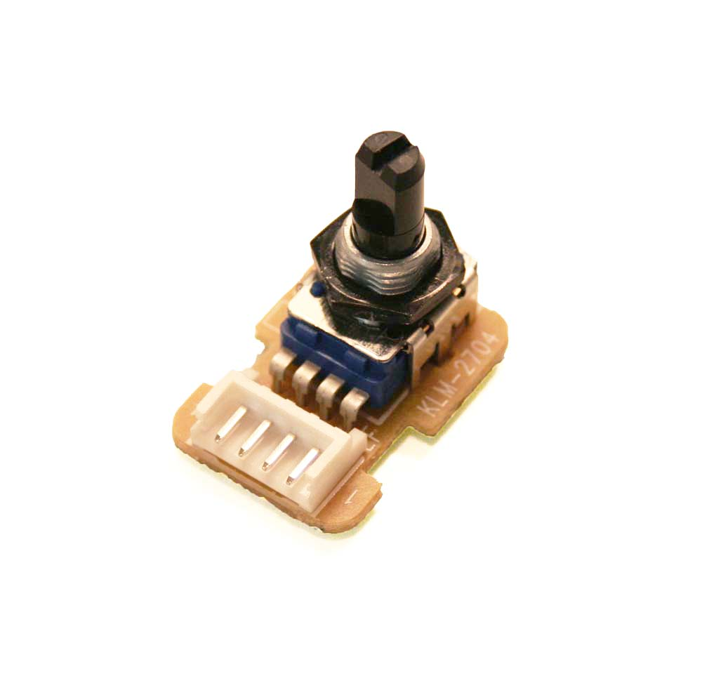 Joystick potentiometer assembly, Korg