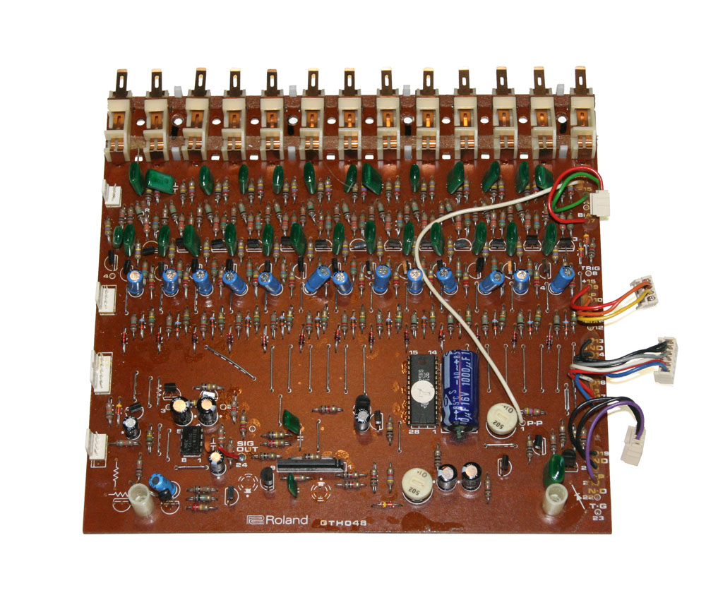 Voice board, upper, Roland HP-60