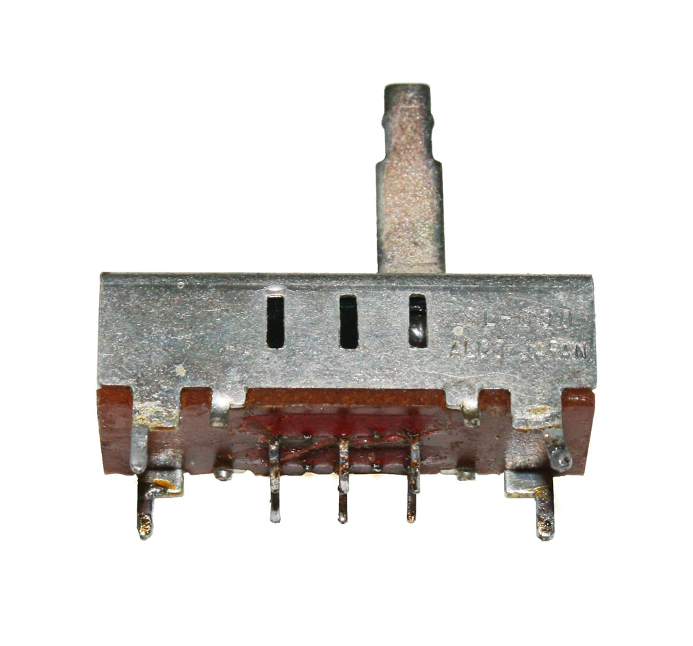 Slide switch, 3 position