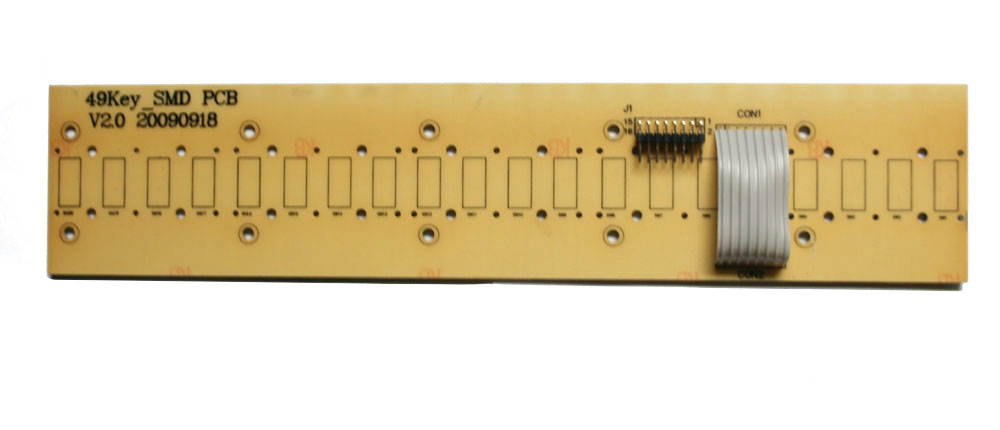 Key contact board, 20-note