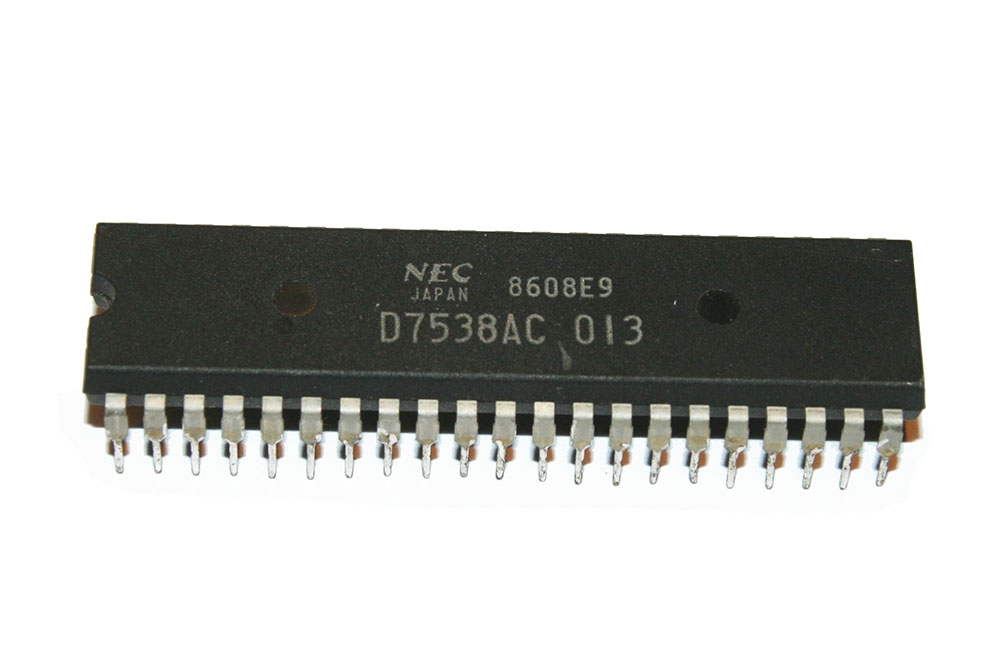 IC, D7538AC013 processor chip