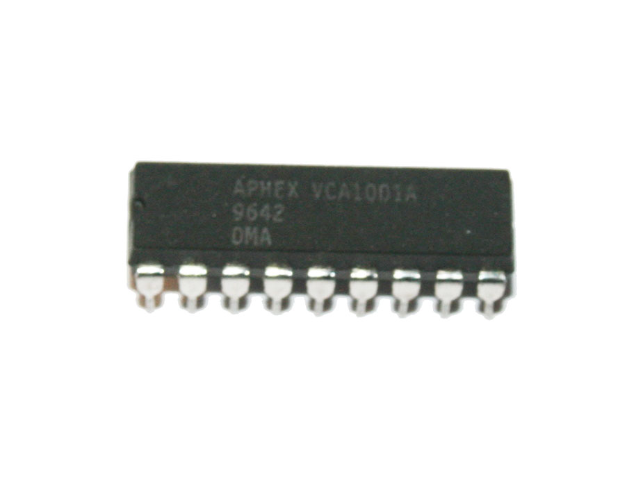 IC, VCA1001 voltage-controlled attenuator