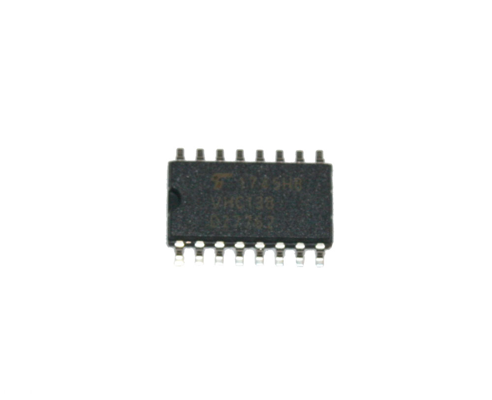 IC, 74VHC138F multiplexer, surface mount