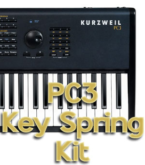 Kurzweil PC3 key spring kit