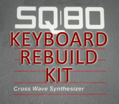 Ensoniq SQ-80 Keyboard Rebuild Kit
