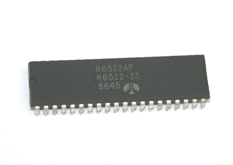 IC, 6522 interface adapter