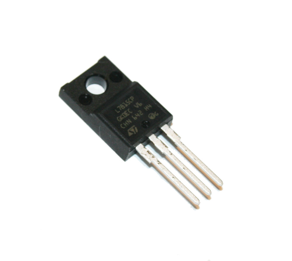 Voltage regulator, 7815, isolated tab