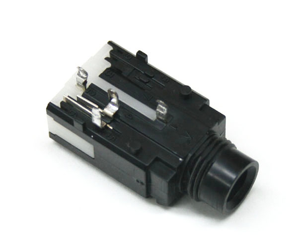 Phone jack, 1/4-inch, 4-pin PCB mount