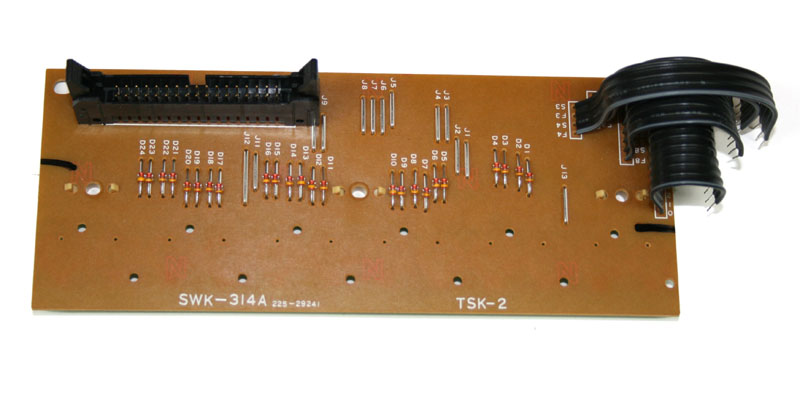 Keyboard contact board, 12-note