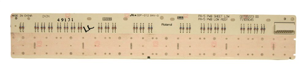Key contact board, 24-note (Low), Roland